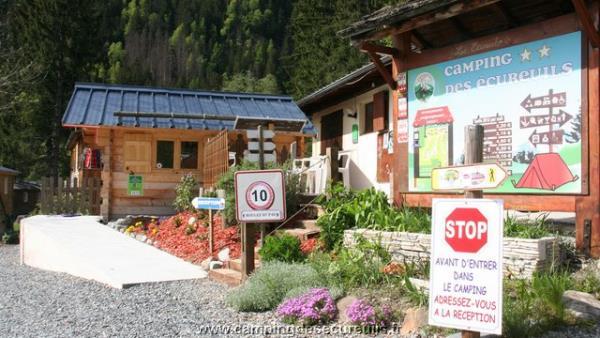 Camping Les Ecureuils, Chamonix Mont Blanc