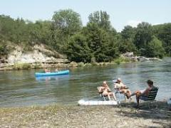Camping Les Ombrages, Dallet