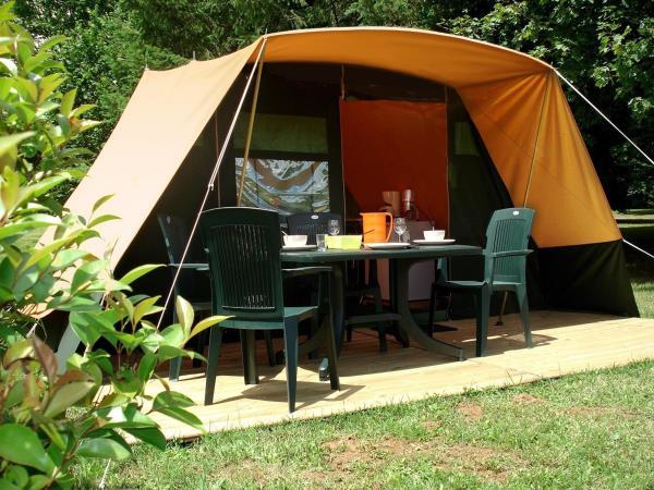Camping La Croix Badeau, Soulaines-Dhuys
